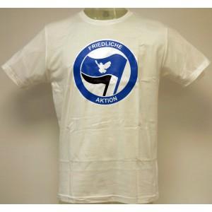 T-Shirt: Friedliche Aktion
