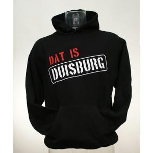 """Kapuzenpullover """"Dat is Duisburg"""","""