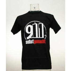 """T-Shirt """"9/11 selbst gemacht"""""""