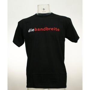 """T-Shirt """"die bandbreite"""""""