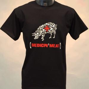 T-Shirt: Medicin'Meat (Kuh)
