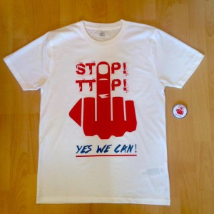 T-Shirt: Stop TTIP - Yes we can!