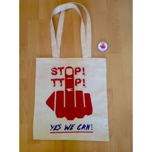 Stofftasche Stop TTIP