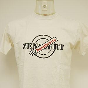 T-Shirt: die bandbreite zensiert